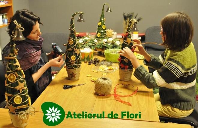 atelierul de flori craciun 2012