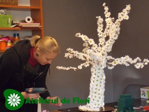 Bianca si copacul de flori