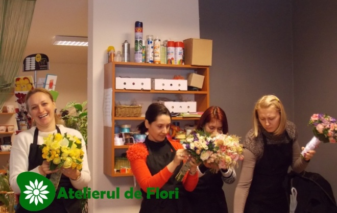 Mihaela, Roxana, Alina si Bianca