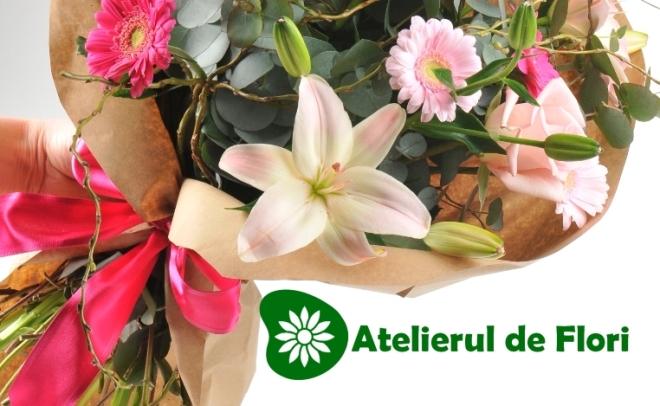 Flori pentru 8 martie buchet flori