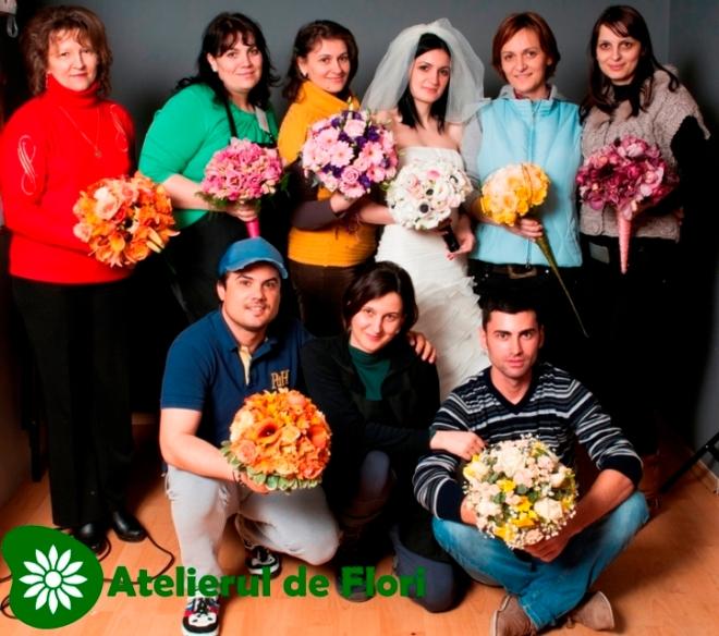 Curs de aranjamente florale Timisoara