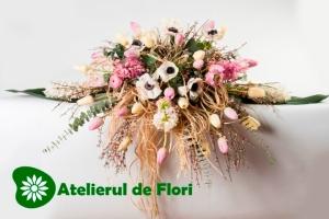 Flori de nunta cu anemone