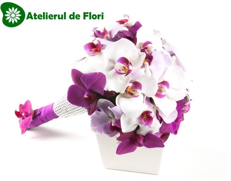 Tutorial Buchet De Mireasa Din Orhidee Phalenopsis Atelierul De