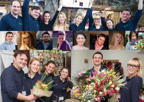 Echipa atelierul de flori