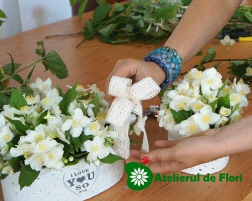 fundita in aranjamente florale