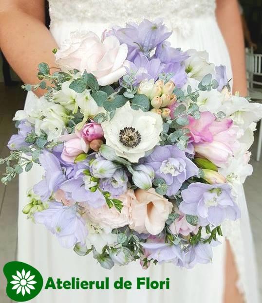 Flori Albastre Atelierul De Flori Timisoara