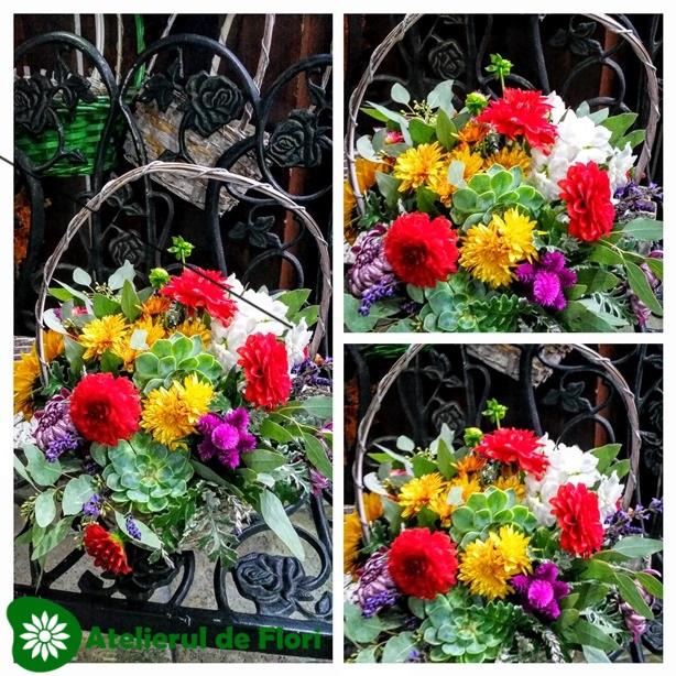 Flori cu suflet sau  Flori de sezon inOctombrie