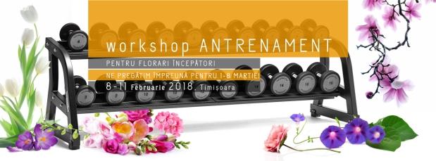Workshop antrenament, florari incepători – pregătire pentru 8martie
